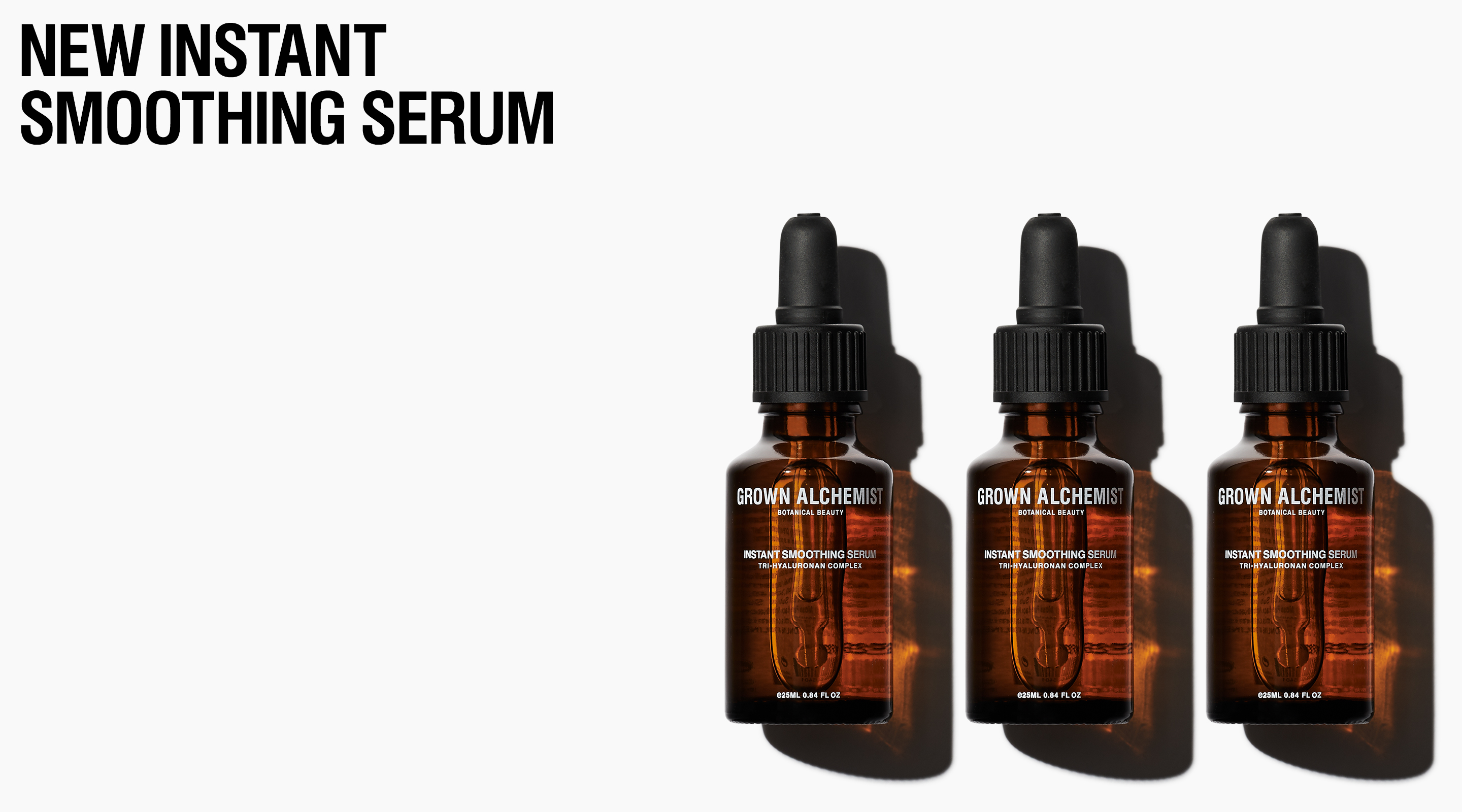 Grown Alchemist NEW INSTANT SMOOTHING SERUM