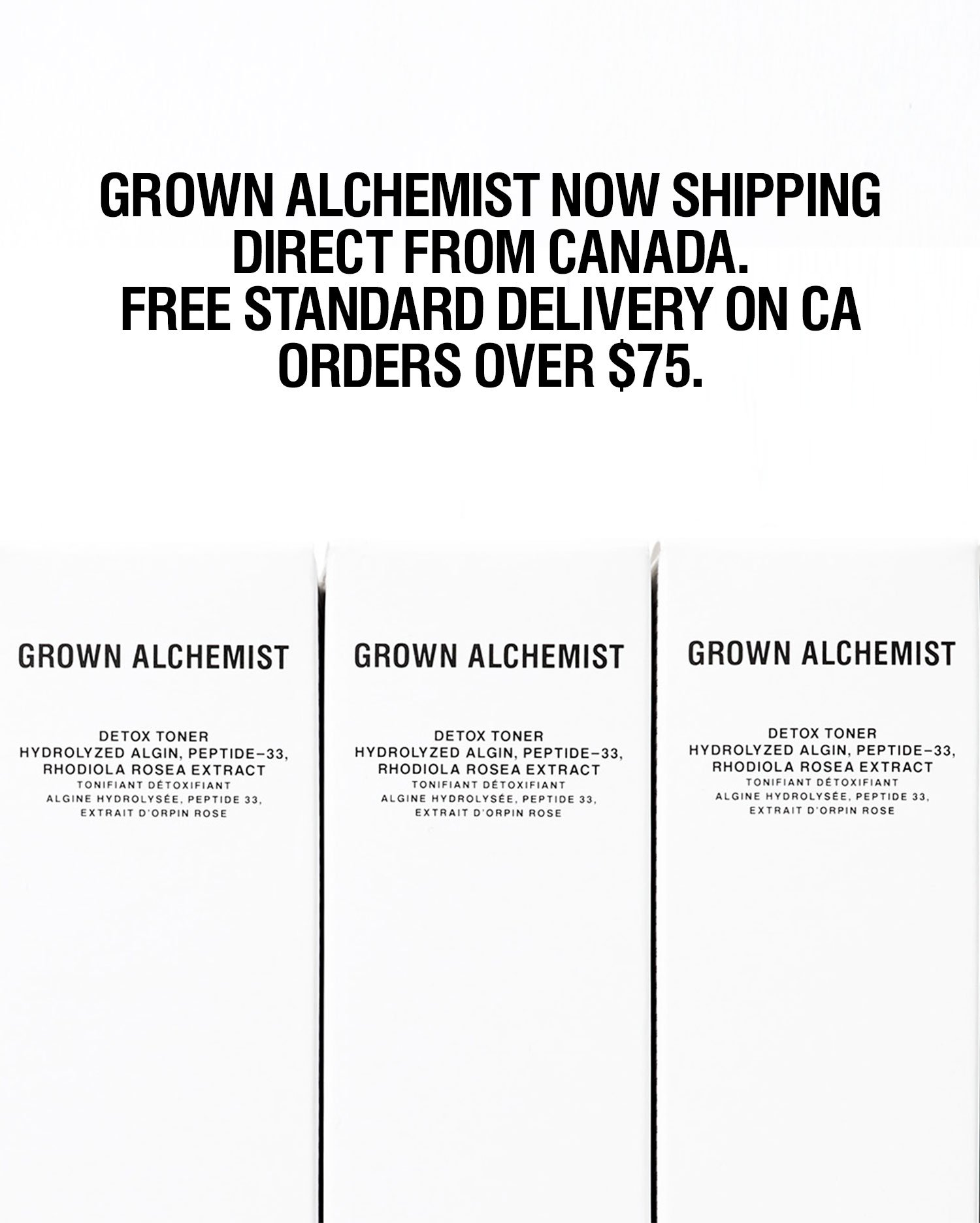 Grown Alchemist - Free Shipping